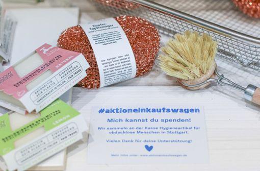 Stuttgarter unterstützen mit hochwertigen Sachspenden