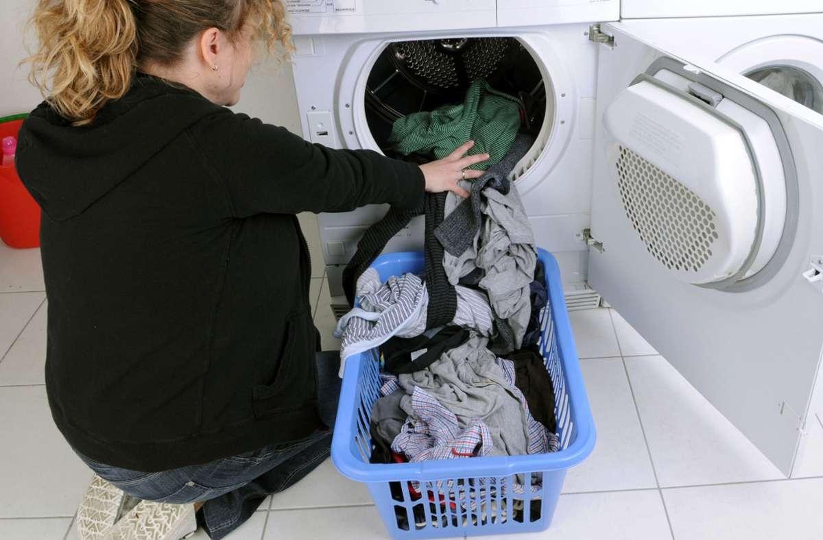 Beim Wäschetrockner-Kauf sollte man  auf den Stromverbrauch achten. Foto: dpa/A. Weigel