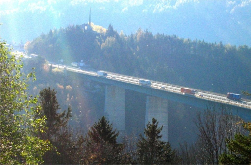 Der Übergang in den Süden: Die Brennerautobahn Foto: SLR