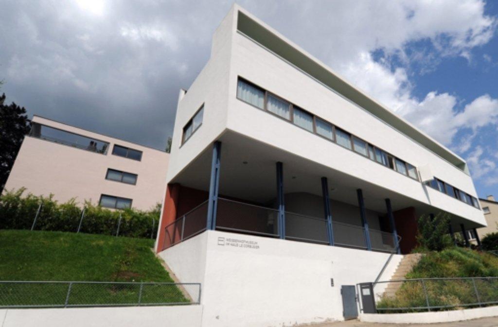 Im Le Corbusier-Haus im Stuttgarter Norden ist das Museum der Weißenhofsiedlung untergebracht. Foto: dpa