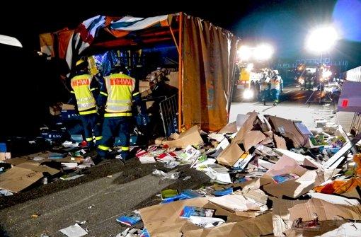 Lastwagen häufiger an Unfällen beteiligt