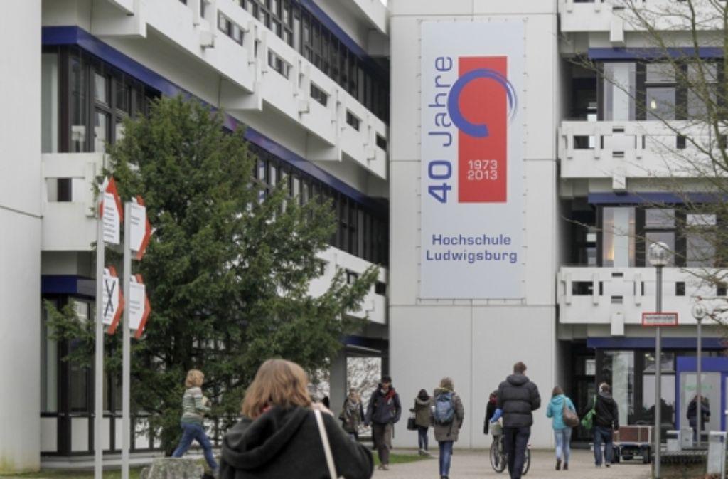 Die Beamtenhochschule Ludwigsburg kommt nicht aus den Turbulenzen. Foto: factum/Bach