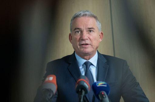 CDU-Chef Strobl dringt auf Bestätigung