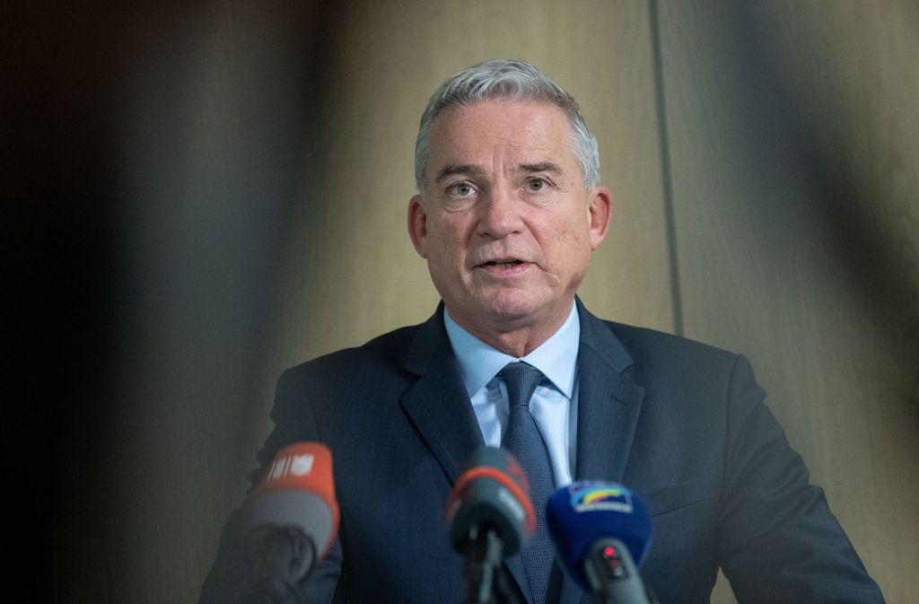 Anspruch auf die Spitzenkandidatur: CDU-Landeschef Thomas Strobl Foto: dpa