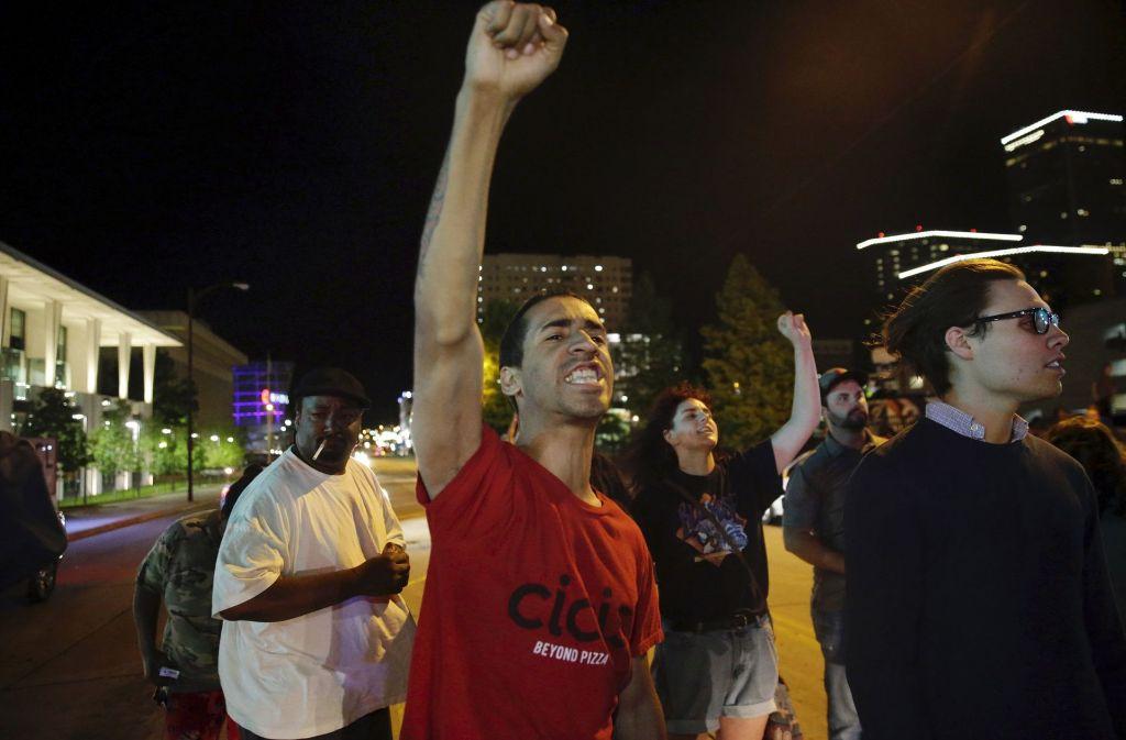 Demonstranten haben gegen die Entscheidung des Gerichts protestiert. Foto: Tulsa World