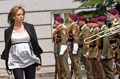 Eine außergewöhnliche Verteidigungsministerin