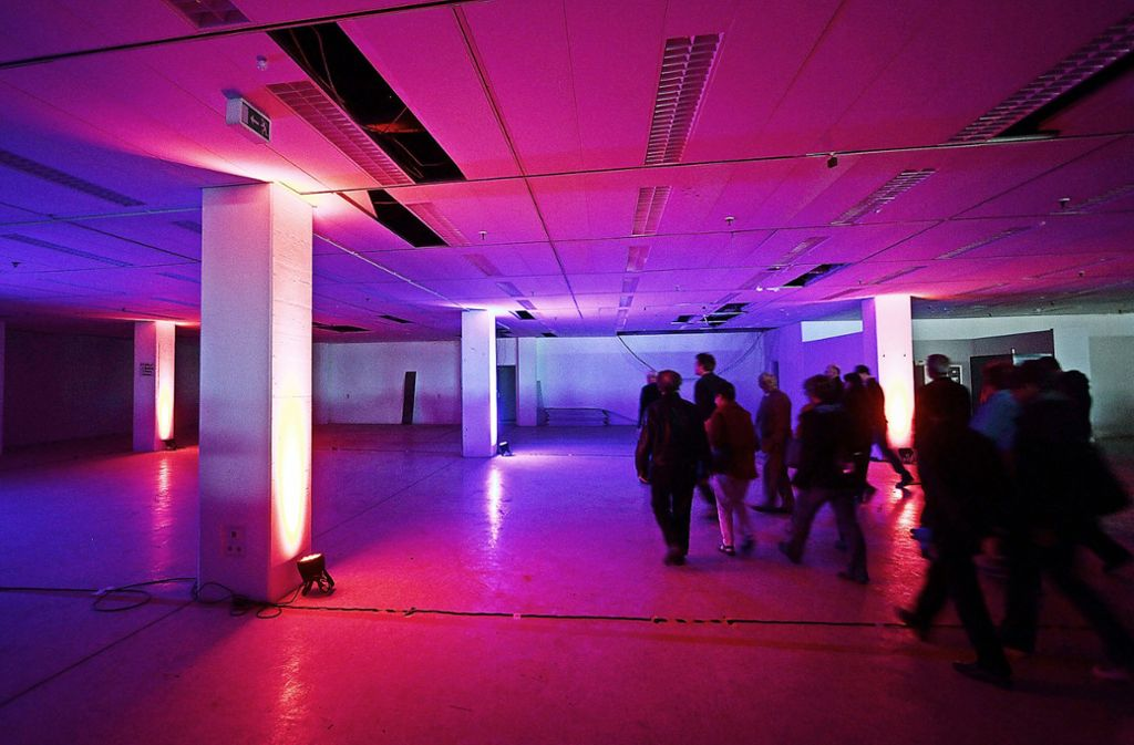 Viel Platz für Kunst und Kultur bietet das Domo: dies demonstrierte der Förderverein bei Führungen durchs Gebäude. Foto: factum/Archiv