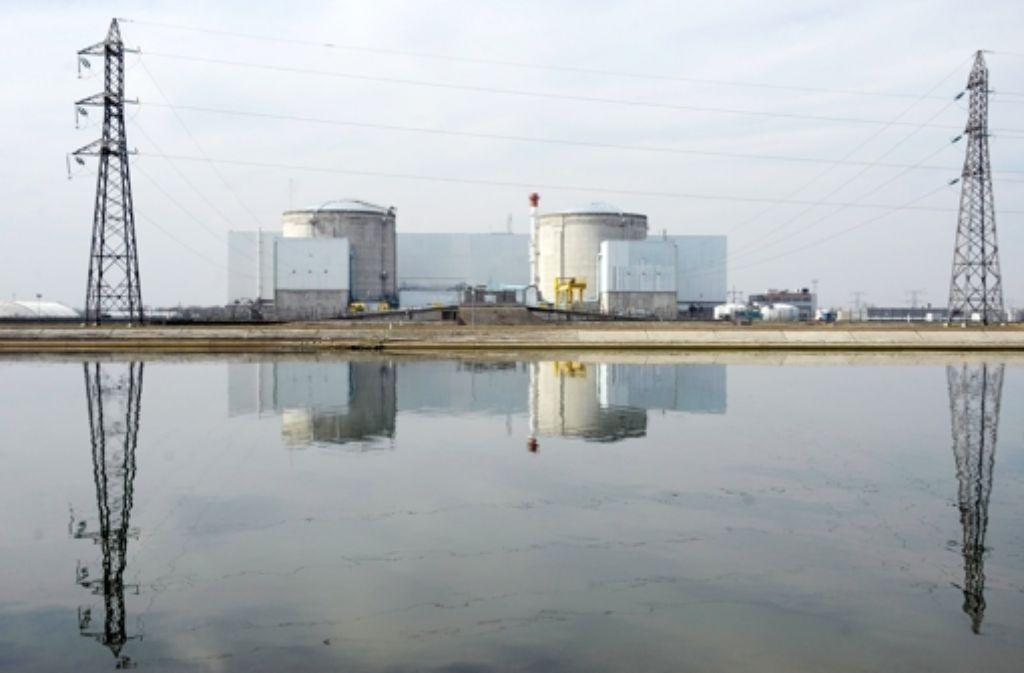 Das elsässische Atomkraftwerk Fessenheim ist eines der ältesten Frankreichs. Foto: EPA
