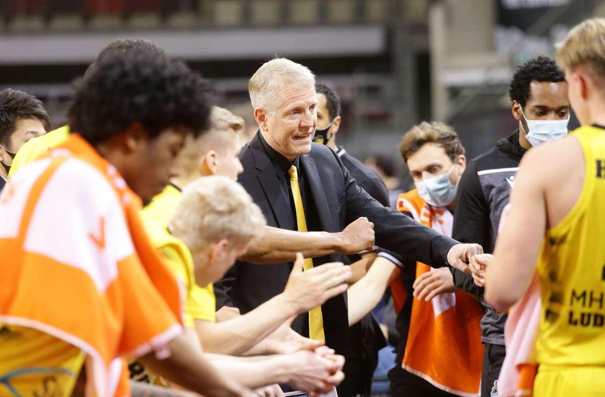 Trainer John Patrick bleibt den MHP Riesen Ludwigsburg treu. Foto: Pressefoto Baumann/Hansjürgen Britsch