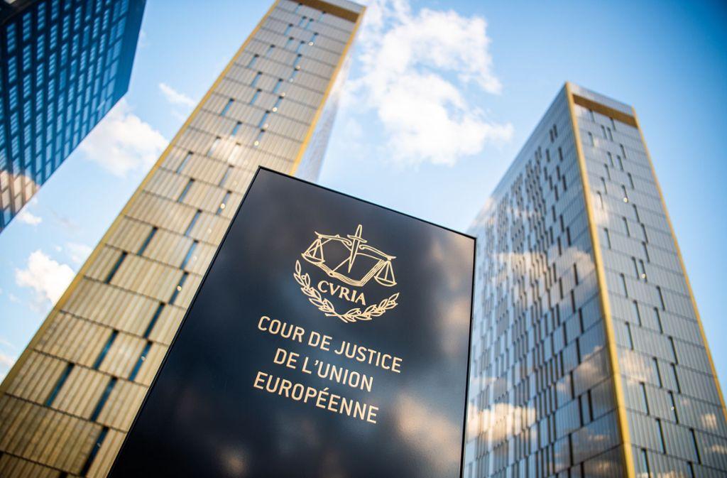 Der Europäische Gerichtshof urteilt in einem brisanten Streit. Foto: picture alliance/dpa/Arne Immanuel Bänsch