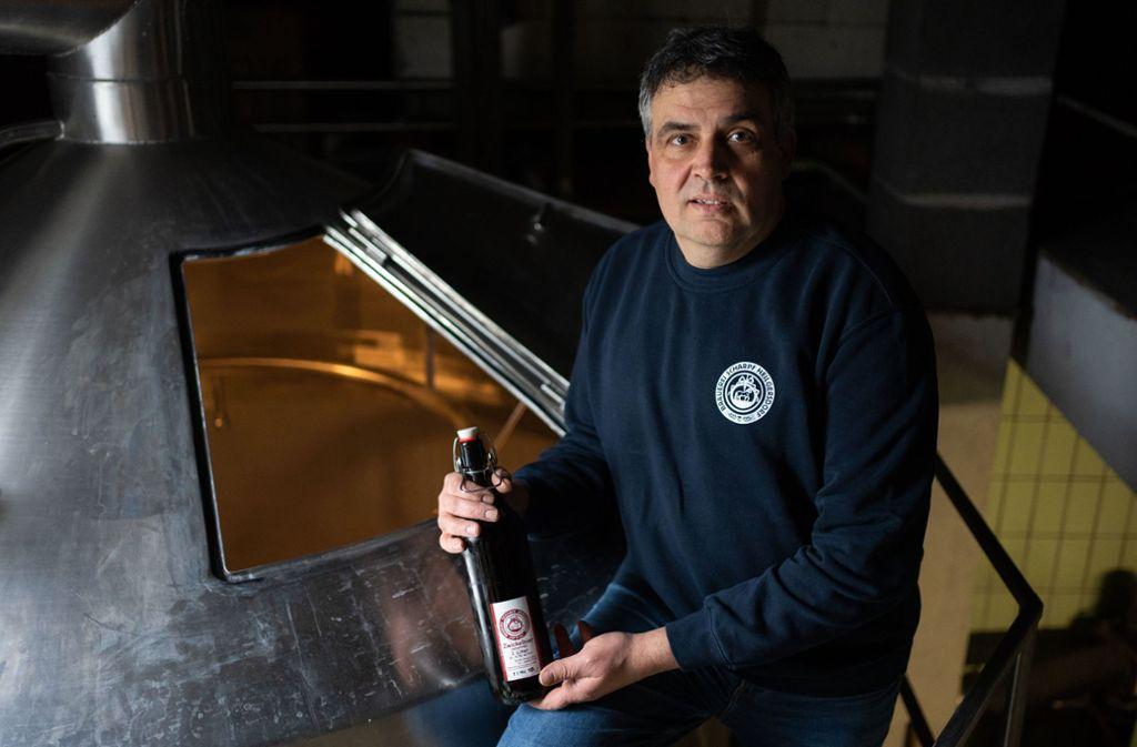 Werner Scharpf betreibt eine von 626 Brauereien in Bayern, 90 Prozent davon kleine Familienbetriebe. Foto: dpa/Nicolas Armer