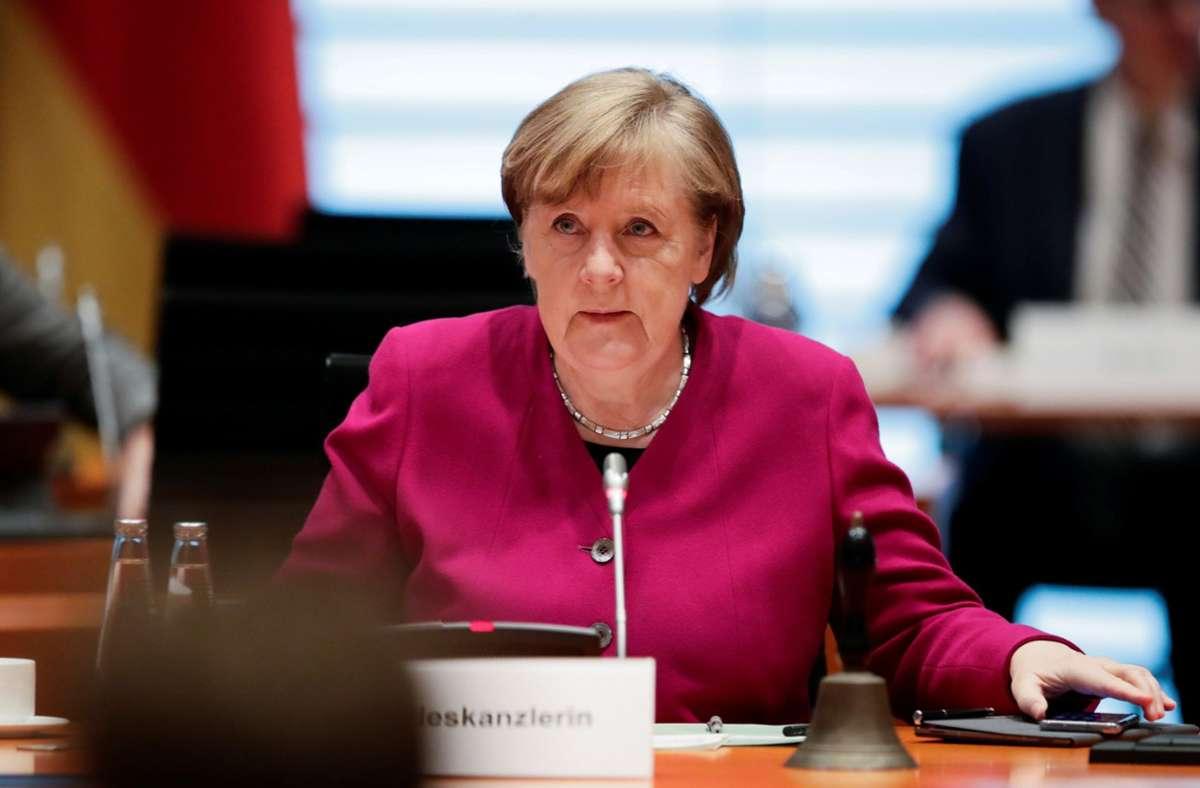 Bundeskanzlerin Angela Merkel kämpft für einheitliche Corona-Regeln. Foto: dpa/Hannibal Hanschke