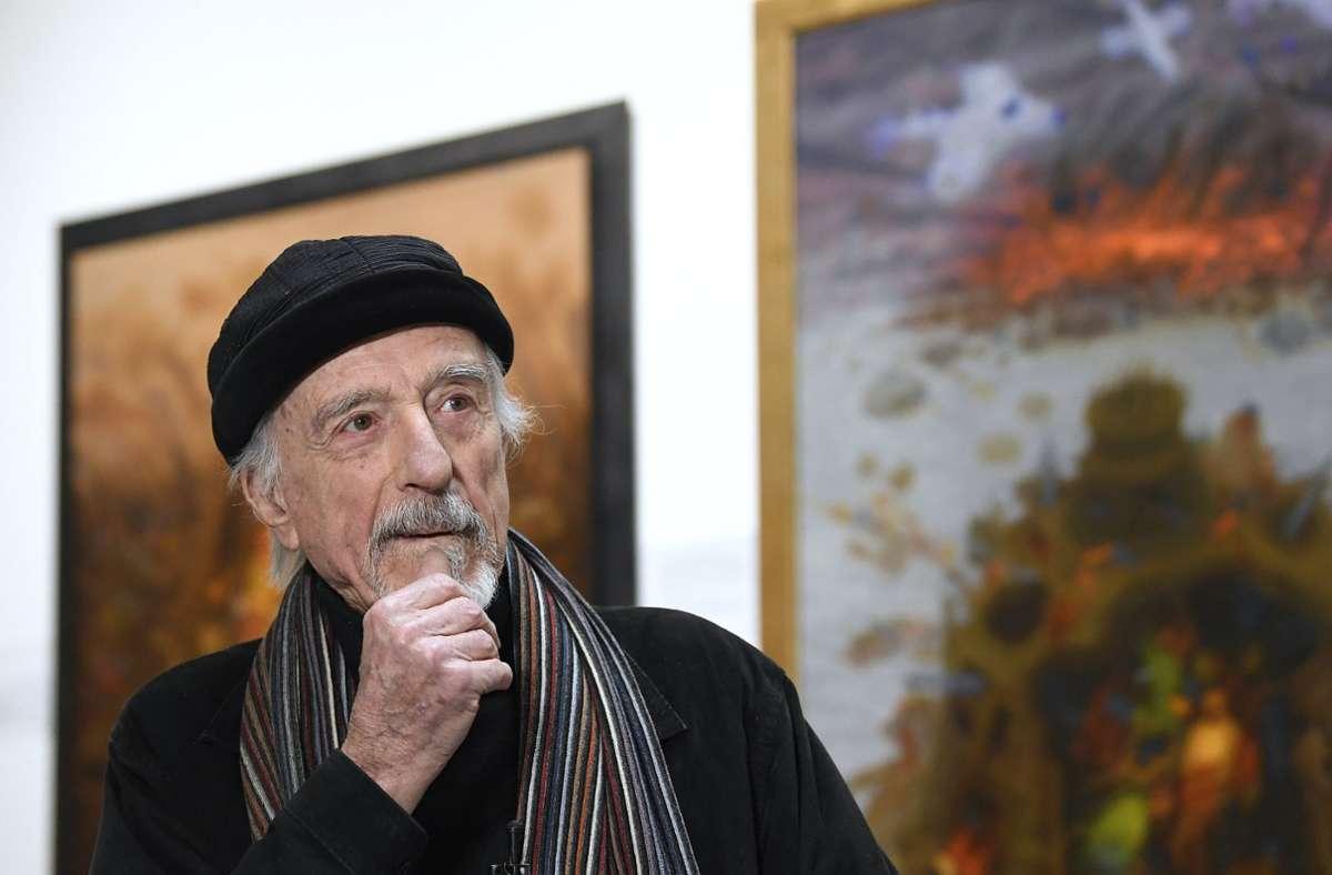 Aufgewachsen ist der 1929 geborene Jude Arik Brauer in einem Wiener Arbeiterbezirk. Foto: dpa/Robert Jaeger