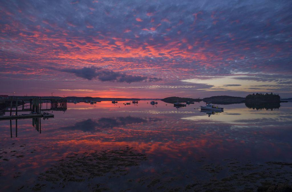 Landschaft im Bundesstaat Maine, dem Schauplatz von Elizabeth Strouts neuem Roman. Foto: imago images/Cavan Images/Adam Woodworth via www.imago-images.de