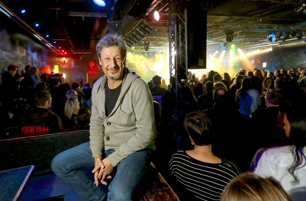 Christian Albrecht ist ein Macher der ersten Stunde der Rockfabrik. Jetzt ist er 55 Jahre alt – und will  die Großraumdisco trotz vieler Probleme weiter betreiben. Foto: factum/Granville