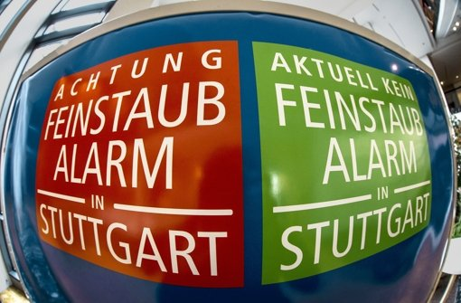 Stuttgart löst wieder Feinstaubalarm aus