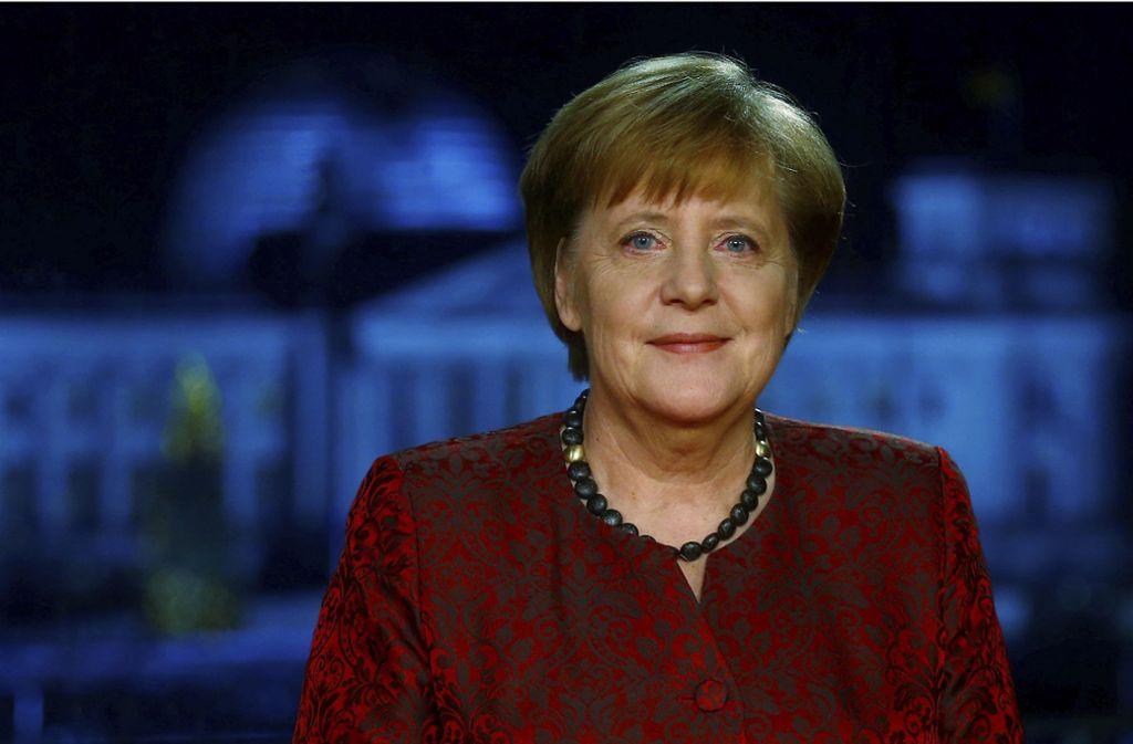 Auch in Angela Merkels Neujahrsansprache spielte die GroKo eine Rolle. Foto: POOL REUTERS