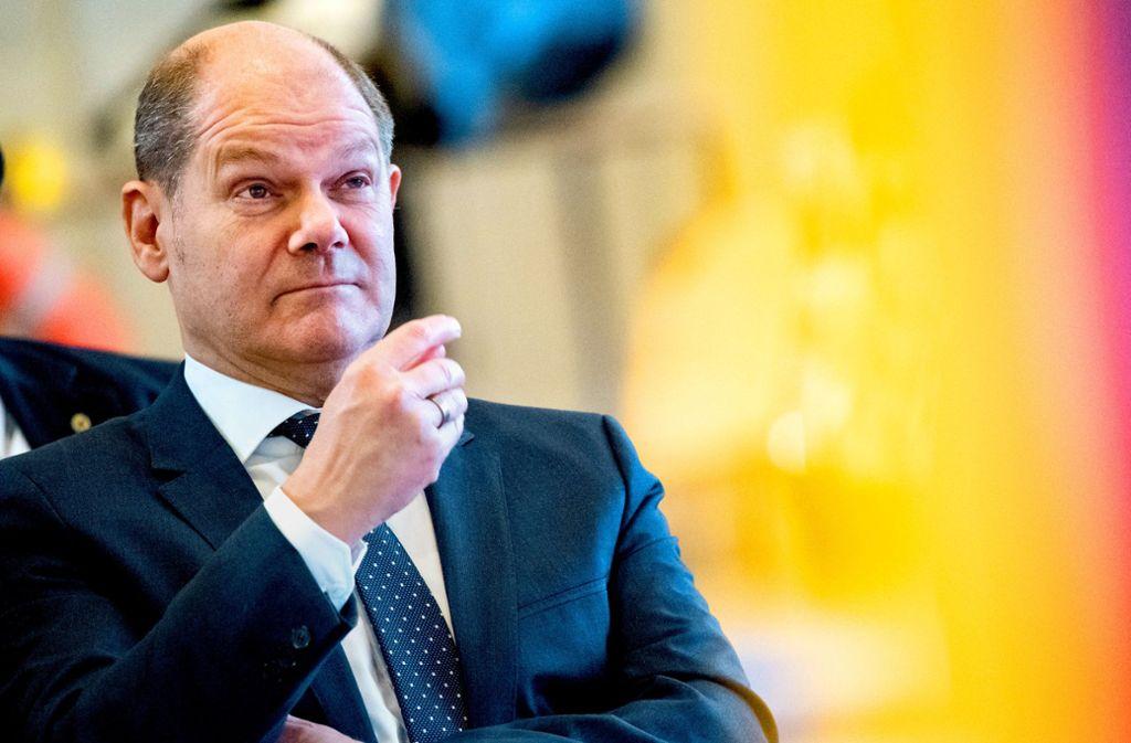 Ja, er will. Olaf Scholz wäre nun doch bereit, für den SPD-Vorsitz zu kandidieren, wenn die Parteispitze das wünscht. Foto: dpa
