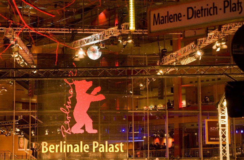 Blick auf den Berlinale-Palast am Potsdamer Platz Foto: rbb/Thomas Ernst
