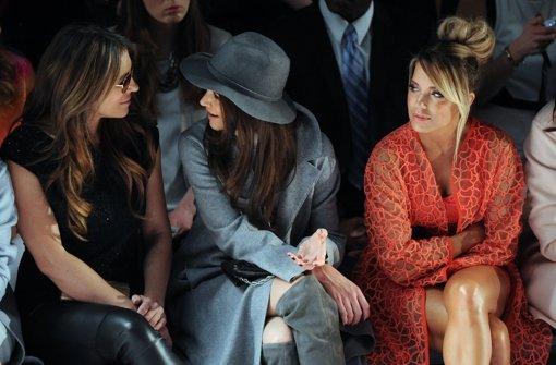 Katie Holmes leiht Sylvie Meis ihren Mantel