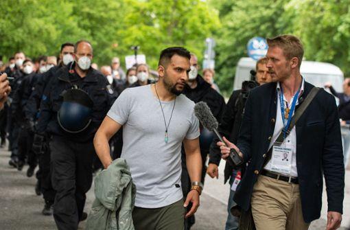 Polizei nimmt Attila Hildmann fest
