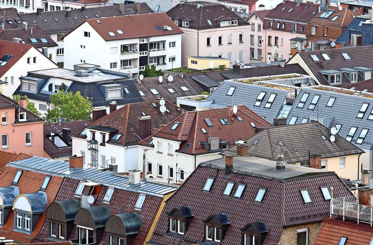 Die Suche nach einer  Wohnung ist für die meisten Stuttgarter ein Grund zur Unzufriedenheit. Foto: dpa/Sebastian Gollnow