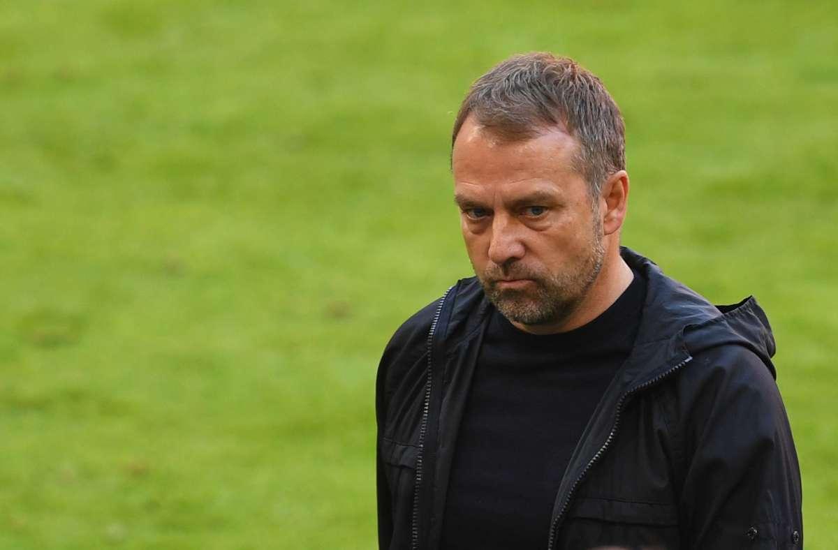 Hansi Flick will seinen Vertrag beim FC Bayern auflösen. Foto: dpa/Andreas Gebert
