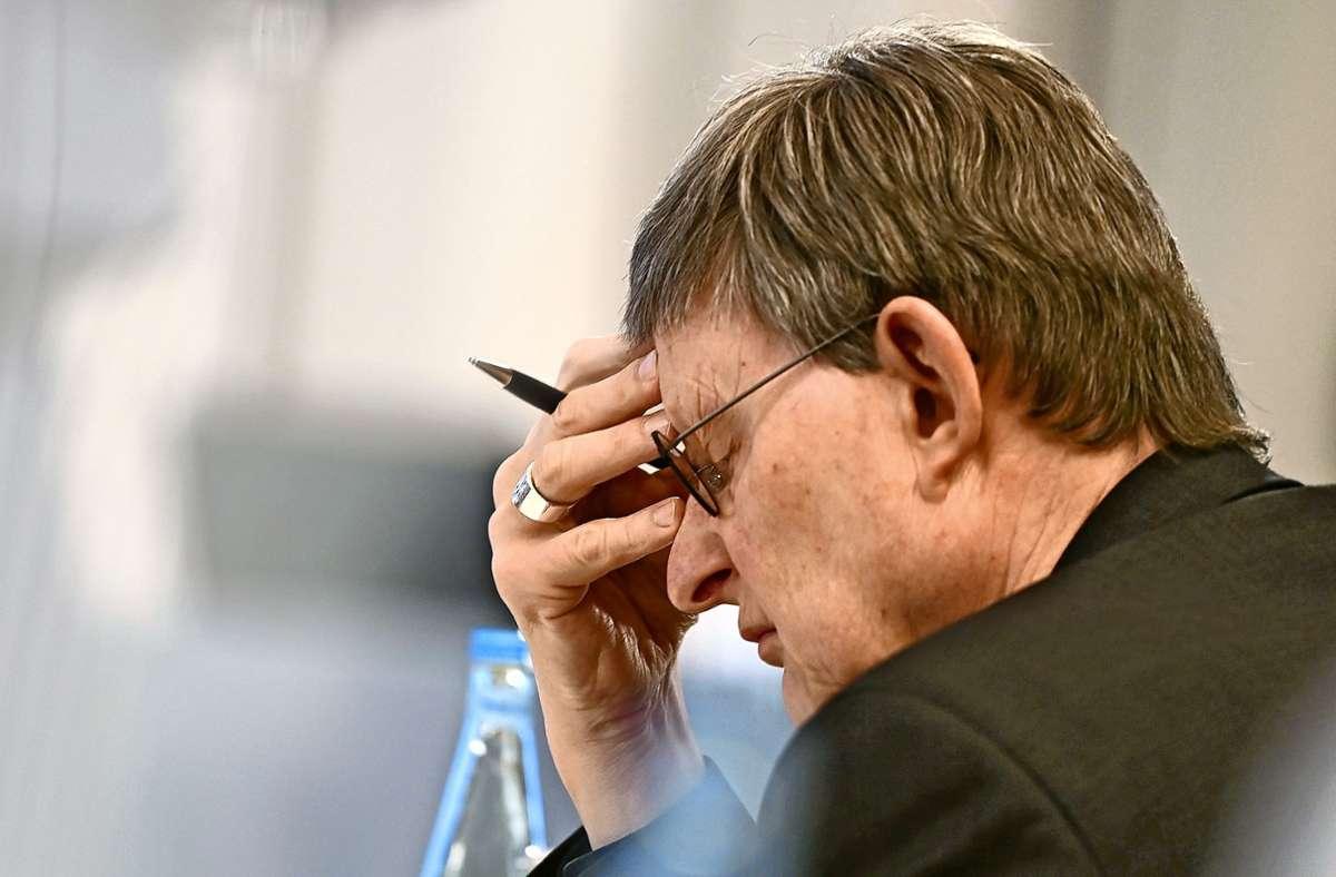 Kardinal Rainer Maria Woelki, Erzbischof von Köln, war im Zusammenhang mit dem Missbrauchsskandal in die Kritik geraten. (Archivbild) Foto: dpa/Ina Fassbender