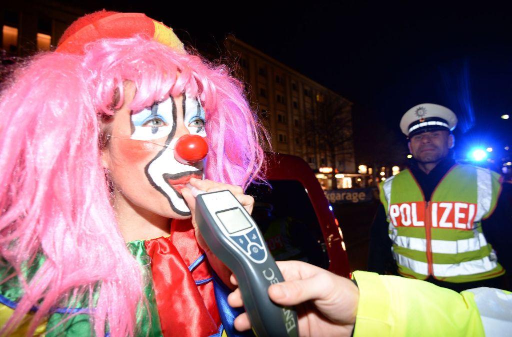 An Fastnacht sind etliche Betrunkene der Polizei im Südwesten ins Netz gegangen. (Symbolbild) Foto: dpa
