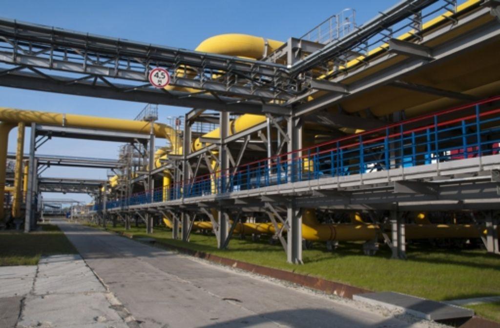 In Anlagen wie dieser wird das Erdgas für den Transport aufbereitet. Foto: Knauer