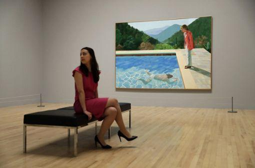 Hockney-Gemälde erzielt Rekordpreis von 90 Millionen Dollar