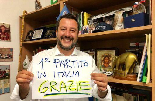 Salvini triumphiert in Italien