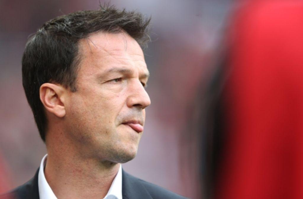 Der VfB-Sportdirektor Fredi Bobic wird nach Informationen der StZ bereits am Mittwochabend entlassen. In der Bilderstrecke werfen wir einen Blick auf Bobics Karriere. Foto: Getty