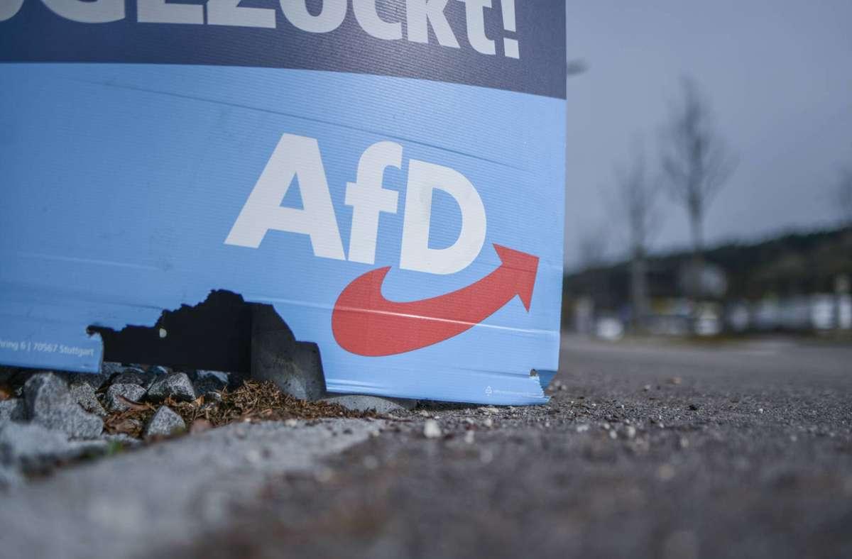 Die AfD geht juristisch gegen die grün-schwarze Landesregierung vor. Foto: imago images/onw-images/Marius Bulling