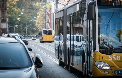 Busse werden umgeleitet