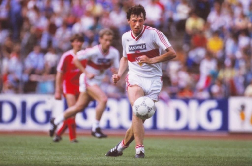 Der Ex-VfB-Spieler Karl Allgöwer sagt, er habe nie etwas mit Doping zu tun gehabt. Foto: Pressefoto Baumann