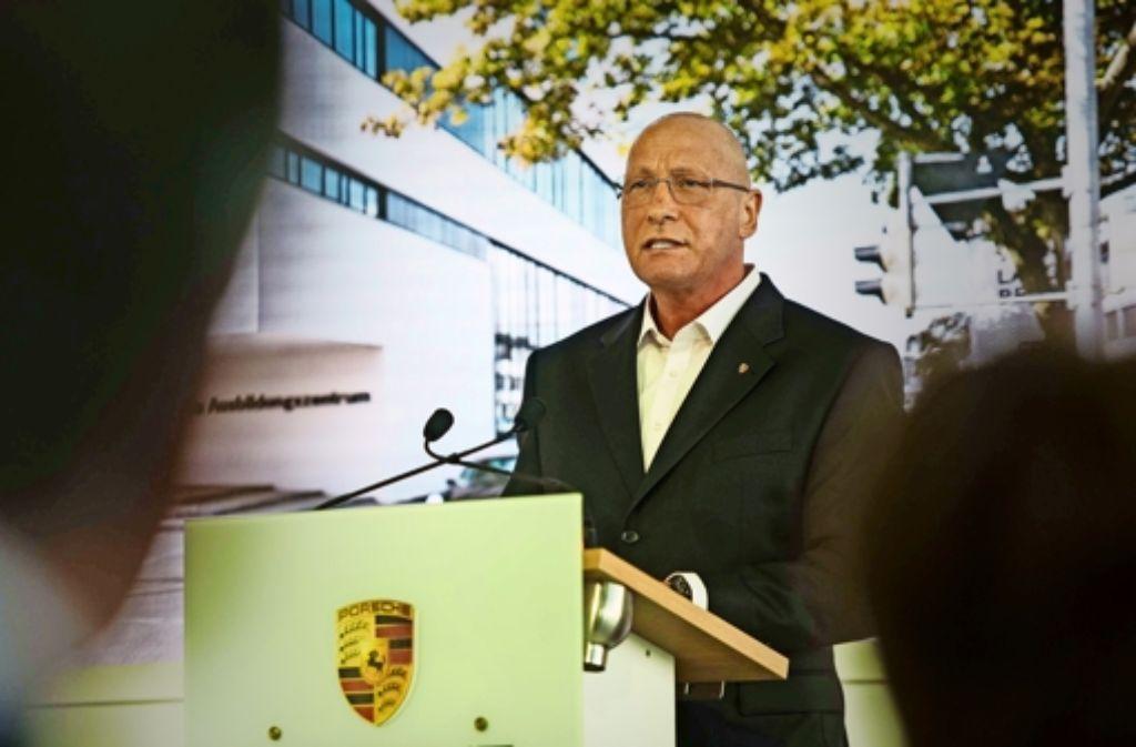 Gesamtbetriebsratschef Uwe Hück  beseitigt Missstände bei Porsche. Foto: Lg/Max Kovalenko