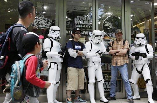 Fans feiern Star-Wars-Tag