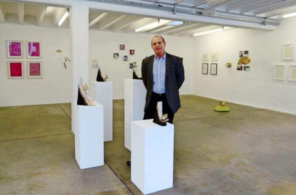 Horst Merkle stellt am liebsten Zeichnungen und Druckgrafiken aus. Foto: red