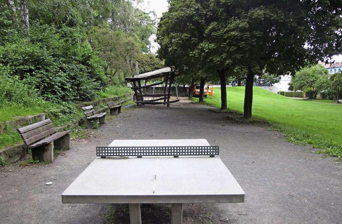 Der Spielplatz Illerstraße soll mit Fitnessgeräten ausgestattet werden. Foto: /Edgar Rehberger
