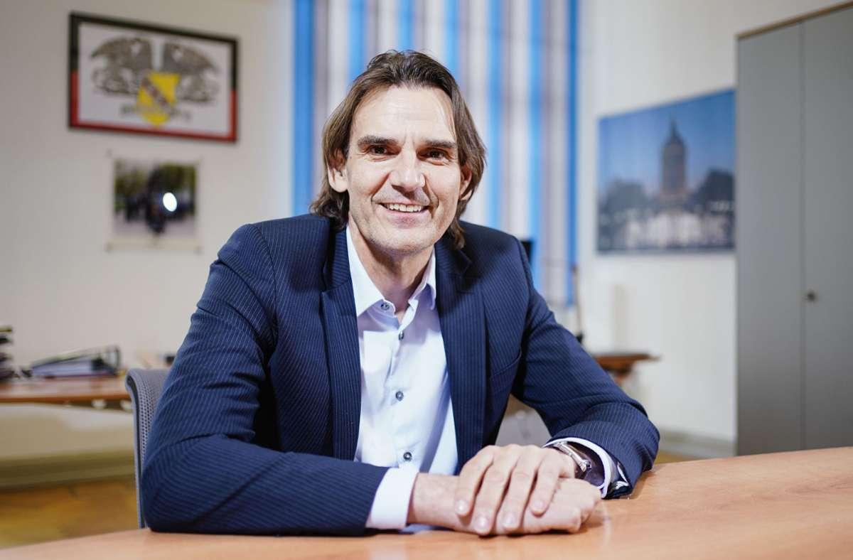 LKA-Chef Andreas Stenger Foto: dpa/Uwe Anspach