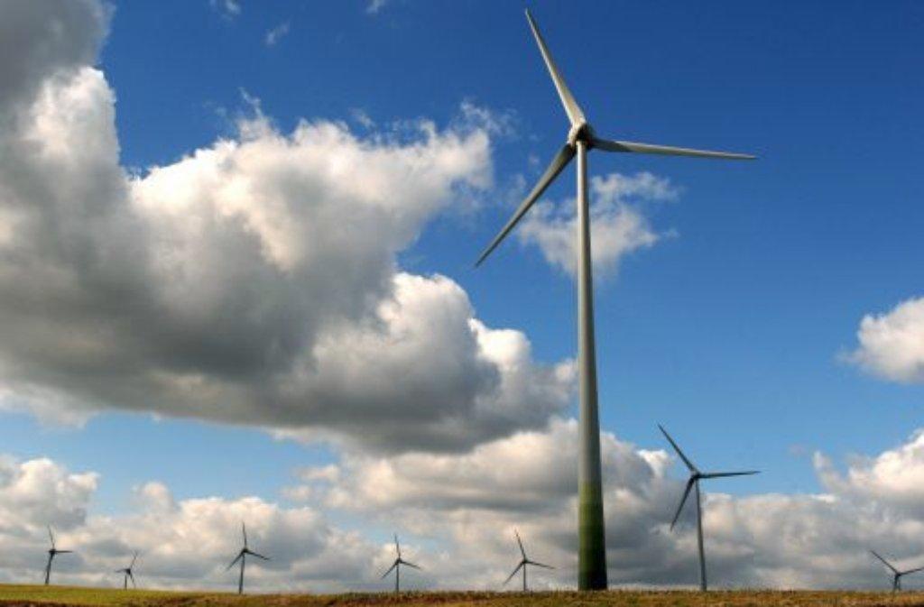 Landesumweltministerium fordert Standorte für Windkraftanlagen. Foto: Symbolbild: dpa