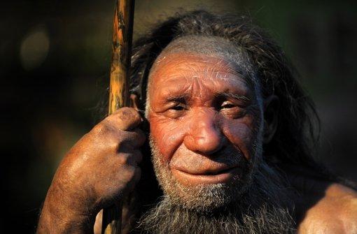 Ein wenig DNA der Neandertaler – im Bild eine Nachbildung –  steckt in den Europäern von heute. Foto: dpa