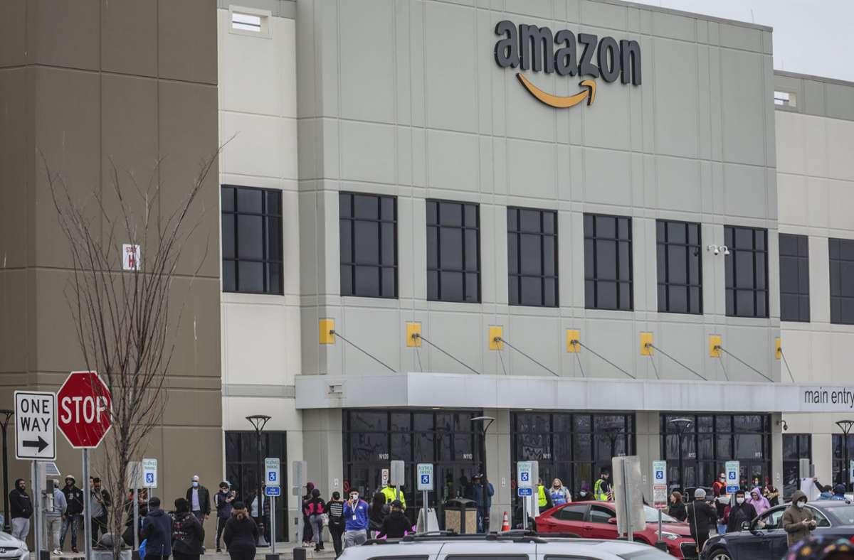 Der Staat New York geht juristisch gegen Amazon vor. Foto: dpa/Bebeto Matthews