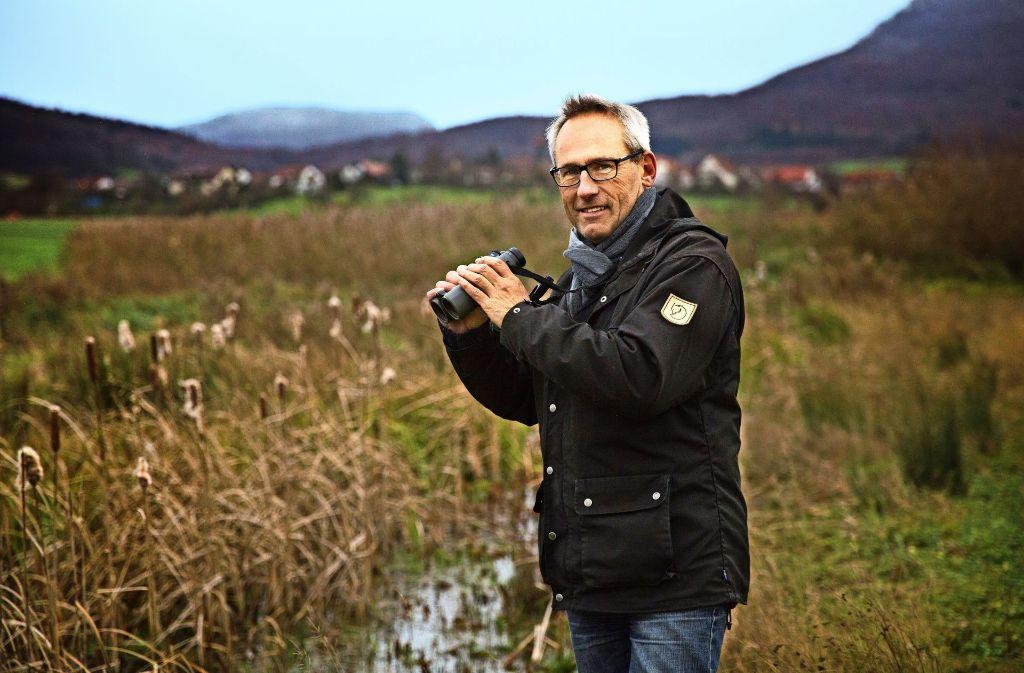 Wolfgang Lissak hat das Biotop Rohrwasen ständig im Blick. Foto: Ines Rudel