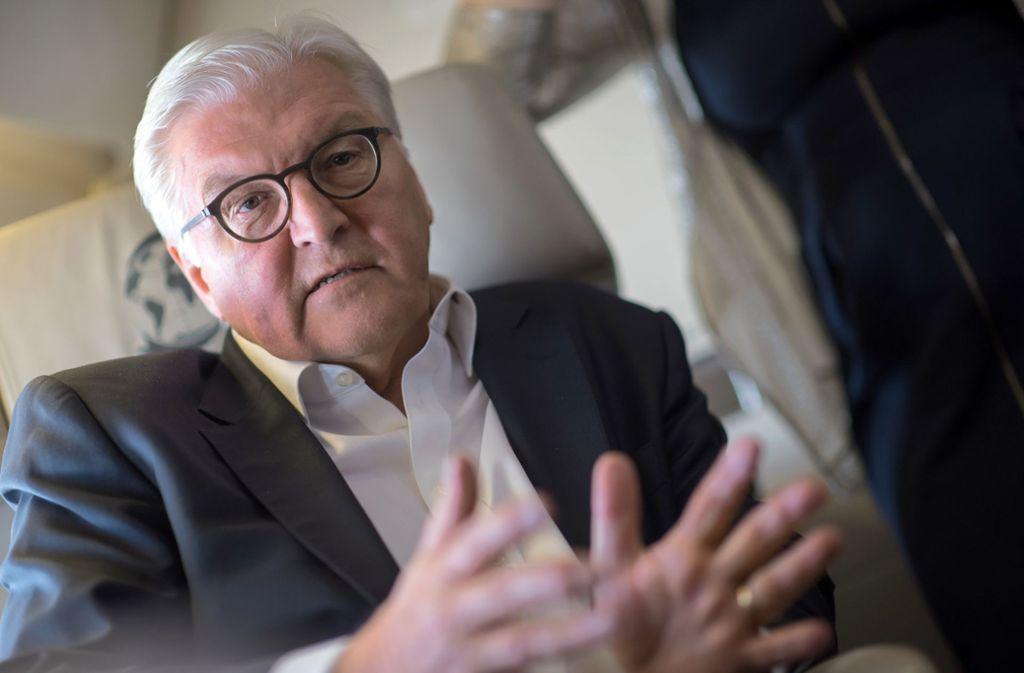 Frank-Walter Steinmeier verspricht mehr als Rote-Teppich-Stories auf seinem Instagram-Kanal. Foto: dpa