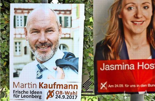 Parteien reagieren umgehend auf Plakat-Klau