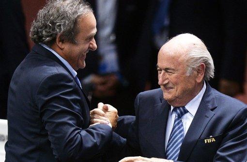 Blatter und Platini bleiben weiter gesperrt