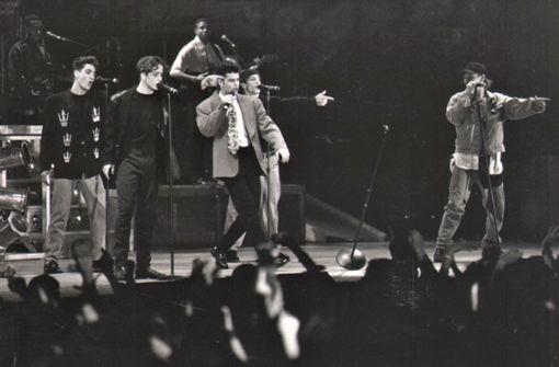 Großeinsatz fürs Rote Kreuz beim Konzert der New Kids On The Block 1991