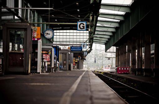 Eingeschränkter Bahnverkehr zwischen Stuttgart und Crailsheim